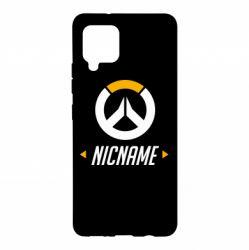 Чехол для Samsung A42 5G Your Nickname Overwatch