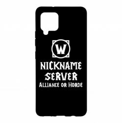 Чохол для Samsung A42 5G Your nickname World of Warcraft