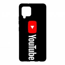 Чехол для Samsung A42 5G Youtube logotype