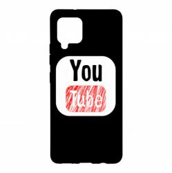 Чохол для Samsung A42 5G YouTube