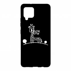 Чохол для Samsung A42 5G жираф