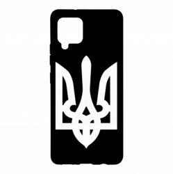 Чехол для Samsung A42 5G Жирный Герб Украины