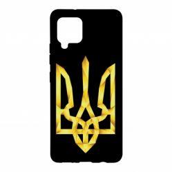 Чехол для Samsung A42 5G Золотий герб