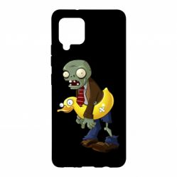 Чохол для Samsung A42 5G Zombie with a duck
