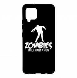 Чохол для Samsung A42 5G Zombies only want a hug