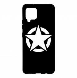 Чохол для Samsung A42 5G Зірка Капітана Америки