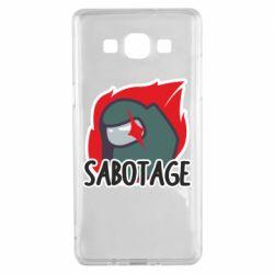 Чохол для Samsung A5 2015 Among Us Sabotage