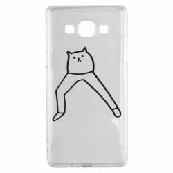 Чохол для Samsung A5 2015 Cat in pants