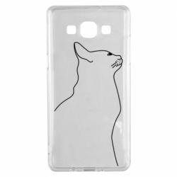 Чохол для Samsung A5 2015 Cat line