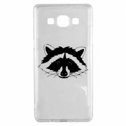 Чохол для Samsung A5 2015 Cute raccoon face