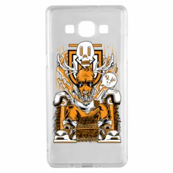 Чехол для Samsung A5 2015 Deer On The Throne