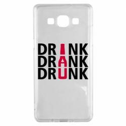 Чехол для Samsung A5 2015 Drink Drank Drunk