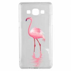 Чохол для Samsung A5 2015 Фламинго