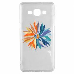 Чохол для Samsung A5 2015 Flower coat of arms of Ukraine