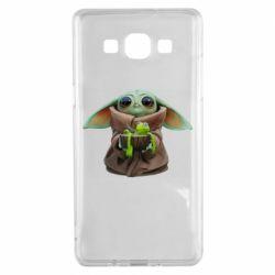 Чохол для Samsung A5 2015 Grogu and Kermit
