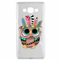 Чохол для Samsung A5 2015 Little owl with feathers