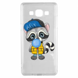 Чехол для Samsung A5 2015 Little raccoon