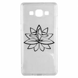 Чохол для Samsung A5 2015 Lotus yoga