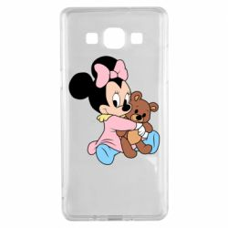 Чохол для Samsung A5 2015 Minnie And Bear