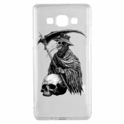 Чехол для Samsung A5 2015 Plague Doctor graphic arts
