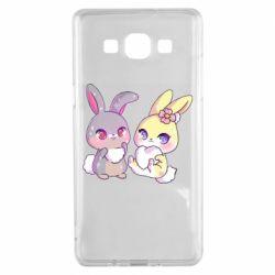Чохол для Samsung A5 2015 Rabbits In Love