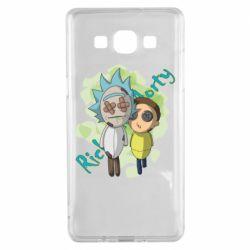 Чохол для Samsung A5 2015 Rick and Morty voodoo doll