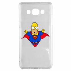 Чехол для Samsung A5 2015 Simpson superman