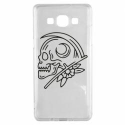 Чохол для Samsung A5 2015 Skull with scythe