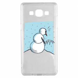 Чохол для Samsung A5 2015 Snowman. It's Cold!