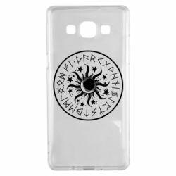 Чохол для Samsung A5 2015 Sun in runes