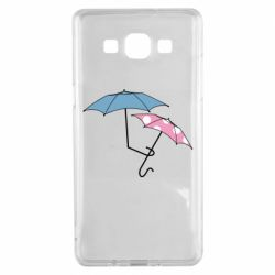 Чехол для Samsung A5 2015 Umbrella love Color