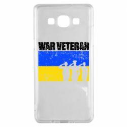 Чохол для Samsung A5 2015 War veteran