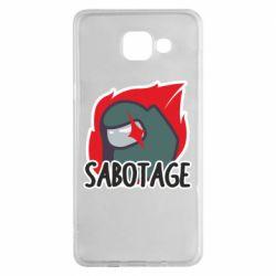Чохол для Samsung A5 2016 Among Us Sabotage