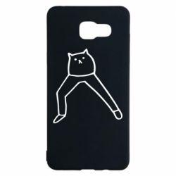 Чохол для Samsung A5 2016 Cat in pants