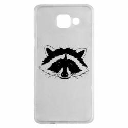 Чохол для Samsung A5 2016 Cute raccoon face
