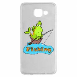 Чехол для Samsung A5 2016 Fish Fishing