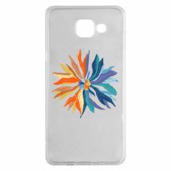 Чохол для Samsung A5 2016 Flower coat of arms of Ukraine