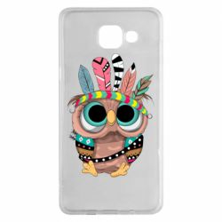 Чохол для Samsung A5 2016 Little owl with feathers