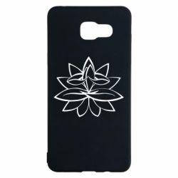 Чохол для Samsung A5 2016 Lotus yoga