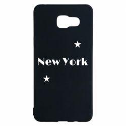 Чехол для Samsung A5 2016 New York and stars