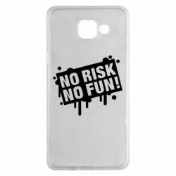 Чохол для Samsung A5 2016 No Risk No Fun