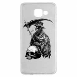 Чехол для Samsung A5 2016 Plague Doctor graphic arts