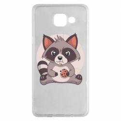 Чохол для Samsung A5 2016 Raccoon with cookies