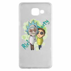 Чохол для Samsung A5 2016 Rick and Morty voodoo doll