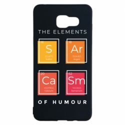 Чохол для Samsung A5 2016 Sarcasm