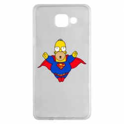 Чехол для Samsung A5 2016 Simpson superman