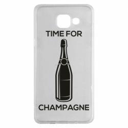 Чохол для Samsung A5 2016 Time for champagne