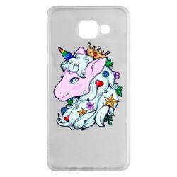 Чохол для Samsung A5 2016 Unicorn Princess