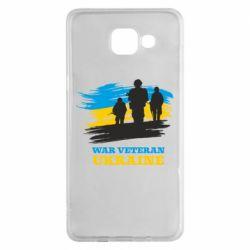 Чохол для Samsung A5 2016 War veteran оf Ukraine