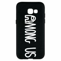 Чохол для Samsung A5 2017 Among Us Logo